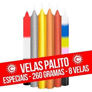 Vela - Palito - 260G - Especial - Cores