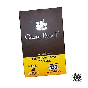 Charuto - Cacau Brasil - Chocolate - Caixa com 5 unidades