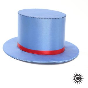 Cartola - Luxo - Alta - Cetim - Azul