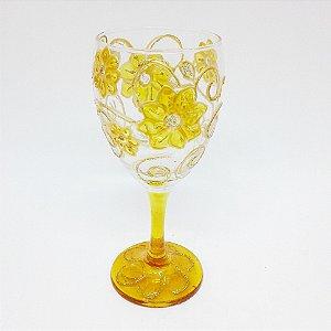 Taça - Flor Amarela