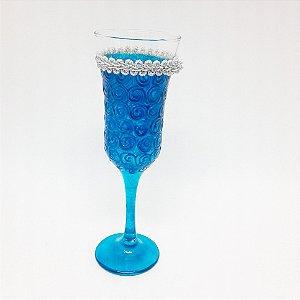 Taça - Luxo Azul