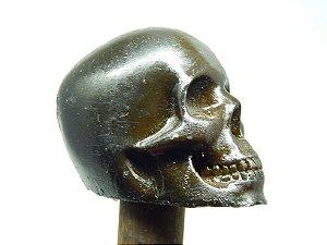 Bengala - Caveira Cranio Resina