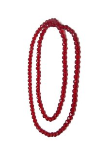 Guia - Cristal Vermelho 8mm