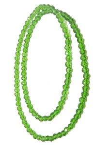 Guia - De Cristal Verde Claro 8mm