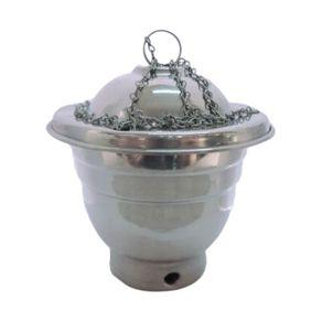 Turibulo Alumínio Pequeno Defumação Ervas