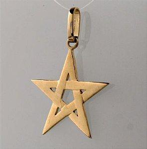Pingente - Estrela de Cinco Pontas