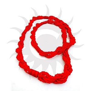 Brajá - 6 Fios - Opaco - Vermelho