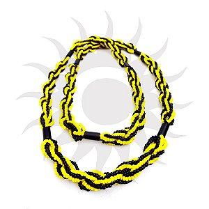 Brajá - 6 Fios - Opaco - Amarelo e Preto