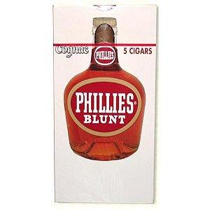 Charuto - PHILLIES Blunt - Cognac 5 Unidades