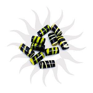 Firma Bicolor Preta e Amarela Unidade