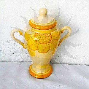 Quartilhão Decorada Amarela