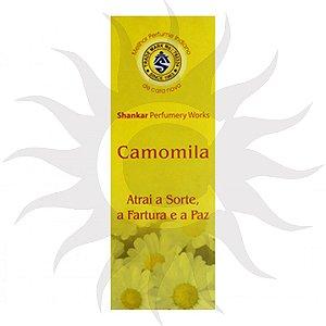 Incenso Shankar - Camomila - CX com 8 varetas
