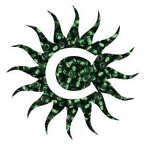 Missanga - Cristal Verde 100 g