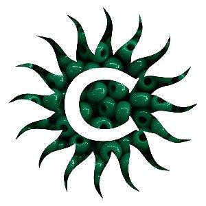 Missanga - Leitosa Verde 100 g