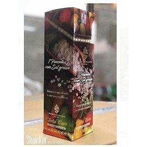 Incenso Shankar - 7 Pimentas Sal Grosso - CX com 8 varetas