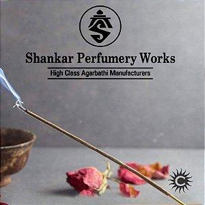 Incenso Shankar - CX com 8 varetas - Rosa Amarela