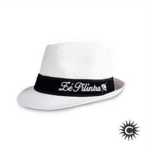 Chapéu de Malandro - Branco - Linda da Malandragem Zé Pelintra