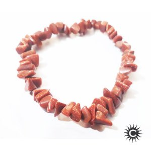 Pulseira - Pedra Cascalho Pedra do Sol