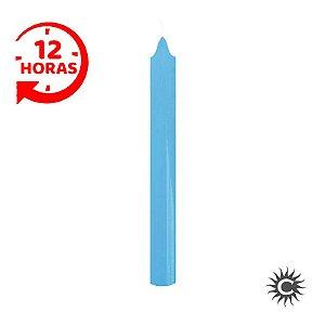 Vela - 12 horas - Azul Claro