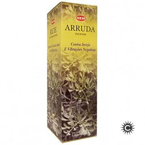 Incenso Hem - ARRUDA  - BOX com 25 caixas