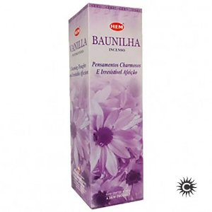 Incenso Hem - BAUNILHA  - BOX com 25 caixas