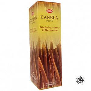 Incenso Hem - CANELA  - BOX com 25 caixas