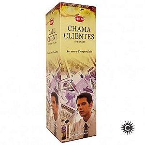 Incenso Hem - CHAMA CLIENTES  - BOX com 25 caixas
