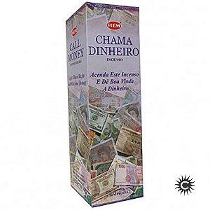 Incenso Hem - CHAMA DINHEIRO  - BOX com 25 caixas