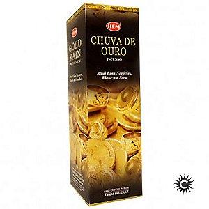 Incenso Hem - CHUVA DE OURO  - BOX com 25 caixas