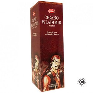 Incenso Hem - CIGANO WLADIMIR  - BOX com 25 caixas
