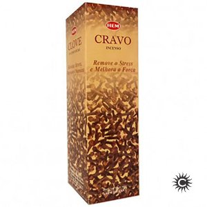 Incenso Hem - CRAVO  - BOX com 25 caixas