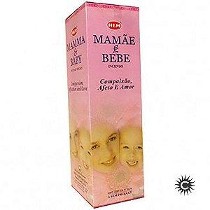 Incenso Hem - MAMÃE E BEBÊ  - BOX com 25 caixas