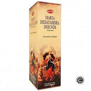 Incenso Hem - MARIA DESATADORA DE NÓS  - BOX com 25 caixas