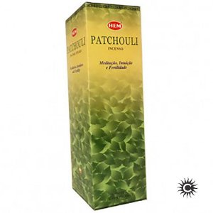 Incenso Hem - PATCHOULI  - BOX com 25 caixas