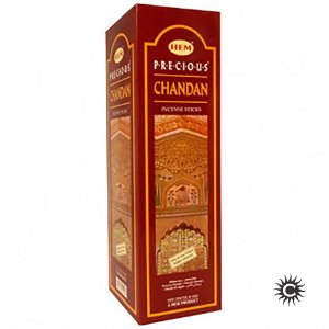Incenso HEM - PRECIOUS  CHANDAN  - BOX com 25 caixas