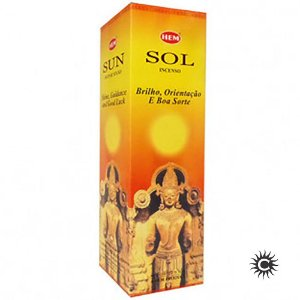 Incenso Hem - SOL  - BOX com 25 caixas