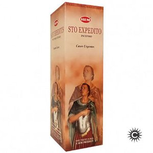 Incenso Hem - SANTO EXPEDITO  - BOX com 25 caixas