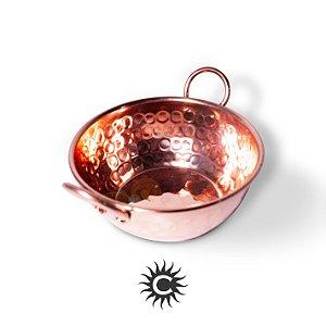 Tacho de cobre 13 cm | COM REBITE