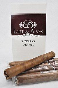Charuto - Leite & Alves  Chocolate 5 Unidades