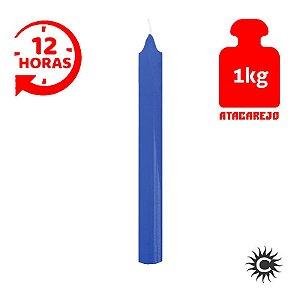 Vela - 12 horas - Kilo - Azul Escuro