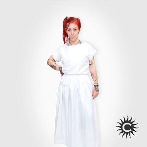Conjunto Micro Fibra - Branco Feminino | Tamanho P