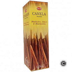 Incenso - HEM - BOX com 25 caixas - CANELA