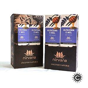 Incenso - Natural Nirvana Caixa com 12 - Alfazema e Mel