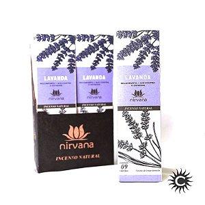 Incenso - Natural Nirvana Caixa com 12 - Lavanda