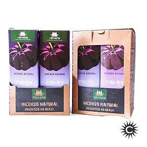 Incenso - Natural Nirvana Caixa com 12 - PITANGA PRETA