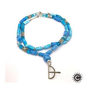 Guia de Murano - Pingente - Azul Claro