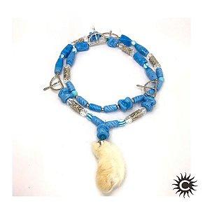 Guia de Murano - Pingente - Azul Médio