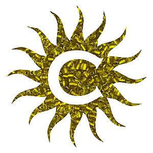 Missanga - Cristal - 100g - Amarela