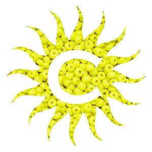 Missanga - Leitosa - 100g - Amarela