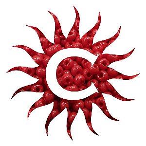 Missanga - Leitosa - 100g - Vermelha